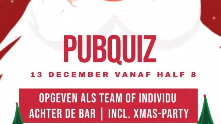 Aankondiging: Pubquiz/XMAS Party