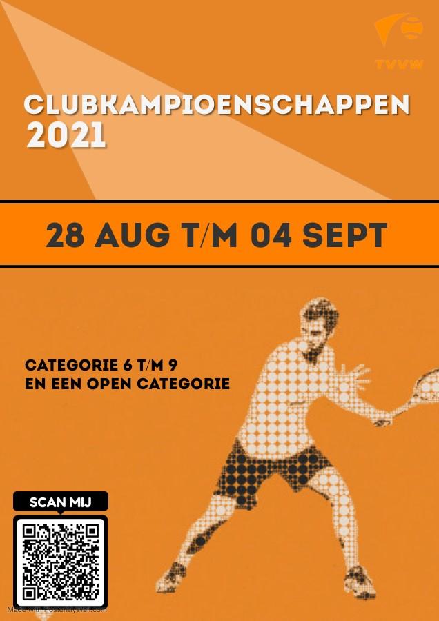 Clubkampioenschappen op stapel